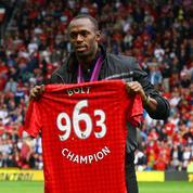 Usain Bolt devrait jouer avec Manchester United s'il se rétablit