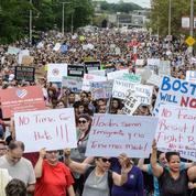 À Boston, des milliers de manifestants dénoncent le racisme