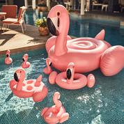 Vacances : la bouée flamant rose flotte sur la vague du succès