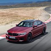 La BMW M5 remonte sur le ring