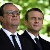 Entre Emmanuel Macron et François Hollande, une relation complexe à réinventer