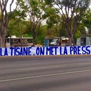 «Fini la tisane...», la banderole menaçante des supporters de l'OM