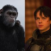Box-office France: Valérian résiste face à la suprématie des singes
