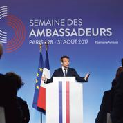 Macron fait du terrorisme islamiste l'ennemi numéro un
