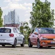 La Volkswagen Polo sur le terrain de la Golf