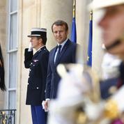 Macron reçoit des figures de l'opposition vénézuélienne