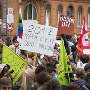 Les opposants à la réforme du travail dans la rue