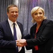 Pour Dupont-Aignan, Marine Le Pen «n'a pas su vendre» l'union des droites