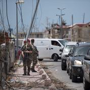 À Saint-Martin, la population ravie de voir les militaires en ville
