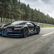 Bugatti Chiron : 0-400-0 km/h en 42 secondes