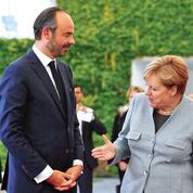À Berlin, Philippe guette l'approbation de Merkel
