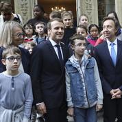 La visite surprise d'Emmanuel Macron chez Alexandre Dumas