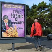 «L'État étrangle nos communes» : la nouvelle affiche polémique de Ménard à Béziers