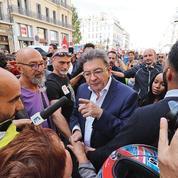 La manifestation de La France insoumise sous haute surveillance