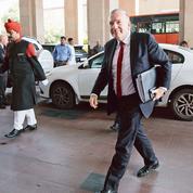 Le premier ministre indien Modi reçoit Pierre Gattaz