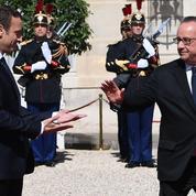 Le soir où Macron a dévoilé ses intentions, la télé de Hollande ne marchait pas