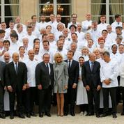 Macron réunit la crème des chefs à l'Élysée