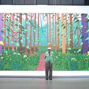 David Hockney donne une œuvre monumentale au Centre Pompidou