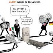 Le dessin d'Ixène: «Alstom achève de se liquider»