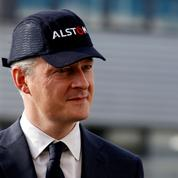 Bruno Le Maire rassure les salariés d'Alstom