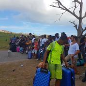 Les habitants de Saint-Martin chassés par l'ouragan Irma reviendront-ils?