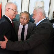 Le retour sous les vivats du premier ministre palestinien à Gaza
