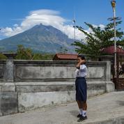 Curieux effet « thermostat » des grandes éruptions volcaniques