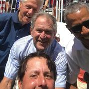 Le golfeur Phil Mickelson réunit Obama, Bush et Clinton sur un selfie