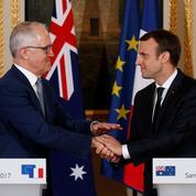 Diplomatie: lune de miel entre la France et l'Australie