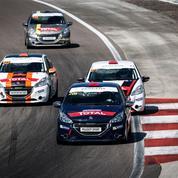 Relais Peugeot 208,Le Figaro dans la course