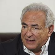 DSK profite d'un hommage à Bricq pour adresser un message très politique à Macron