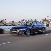 Audi A8, la limousine dans une voie étroite