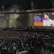 U2 a attendu la fin du match de l'Argentine pour commencer son concert à Buenos Aires