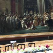 Au Louvre, les mécènes méritent bien un dîner au pied du Sacre de Napoléon