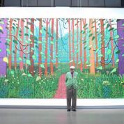 """David Hockney:«Je suis loin du """"dress code"""" noir du monde de l'art»"""