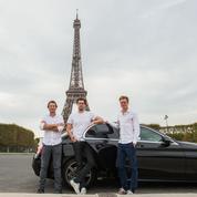 Trois mousquetaires à la tête de Taxify en France