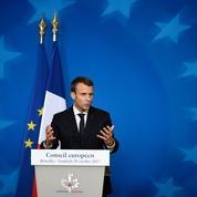 Fiscalité: à Bruxelles, Macron bridé par ses pairs européens