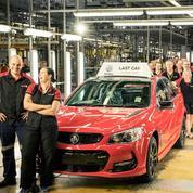 La dernière voiture «made in Australia» est sortie des chaînes