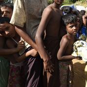 Près d'un million de Rohingyas réfugiés au Bangladesh