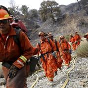 En Californie, des détenus au côté des pompiers pour contrôler les incendies
