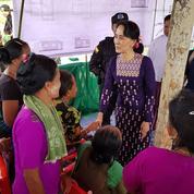 Rohingyas : Aung San Suu Kyi se rend dans la zone du conflit