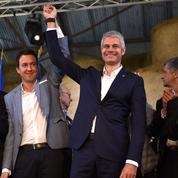 À Châteauroux, Laurent Wauquiez accueilli en «chef» de la famille LR