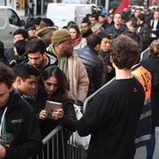 iPhone X : le spectacle insignifiant des files d'attente