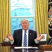 Donald Trump : un an de fracas, peu de résultats
