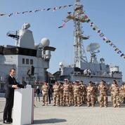 Aux Émirats, Macron tourne la page Daech et s'invite à Riyad