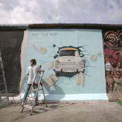 Depuis le mur de Berlin, les frontières bétonnées deviennent des oeuvres d'art