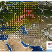 Première carte de la mystérieuse pollution radioactive au ruthénium 106 en Europe
