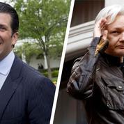 L'étrange correspondance entre DonaldTrumpJr et WikiLeaks