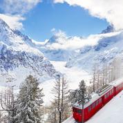 À Chamonix, première hivernale au Montenvers