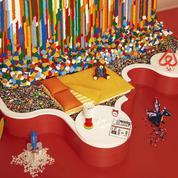 Dormir dans une maison Lego